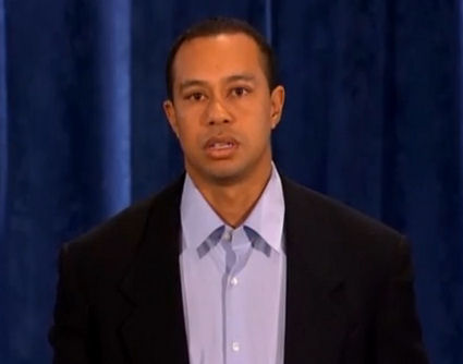 Tiger Woods' contrived apology